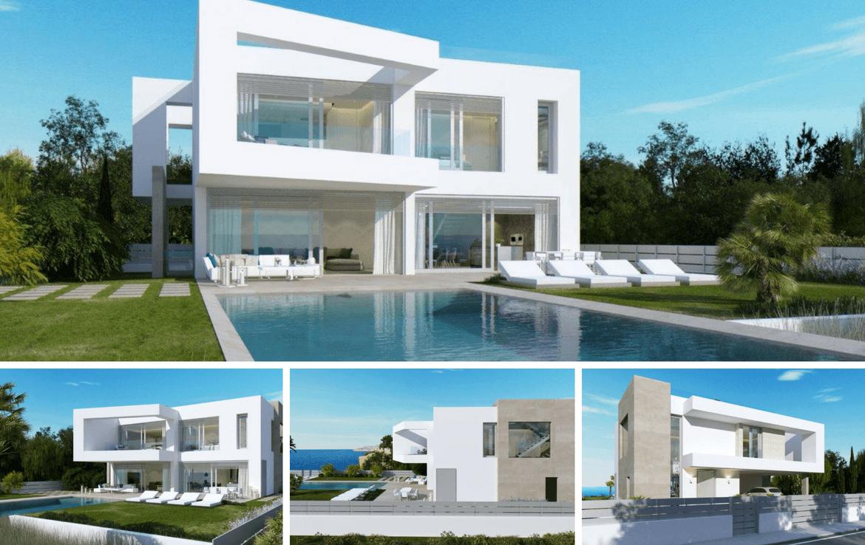 Villa in El Torro - Aussenansichten